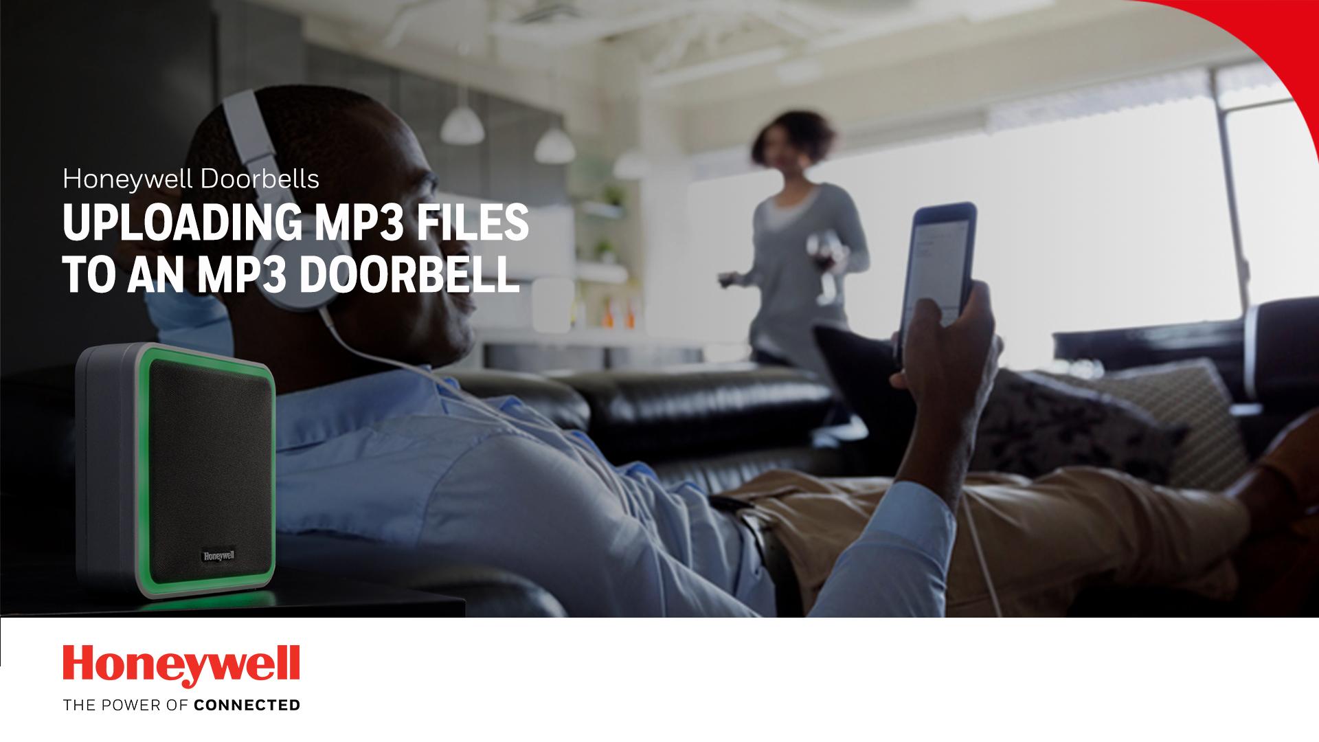 Mp3-bestanden uploaden naar een mp3-deurbel