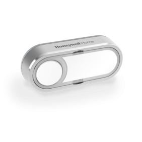 DCP511GA - Wireless push button with nameplate and LED confidence light – Offset Landscape, Grey