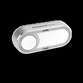 DCP511G - Botão sem fios com placa de identificação e luz LED ativada por pressão – Horizontal compensado, cinzento