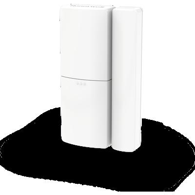 Détecteur sans fil d'ouverture de porte et de fenêtre – Blanc