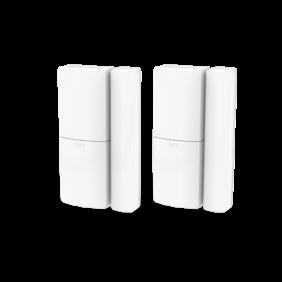 HS3MAG2N - Trådløs  dør-  og  vinduessensor,  dobbelt  pakke  –  Hvid