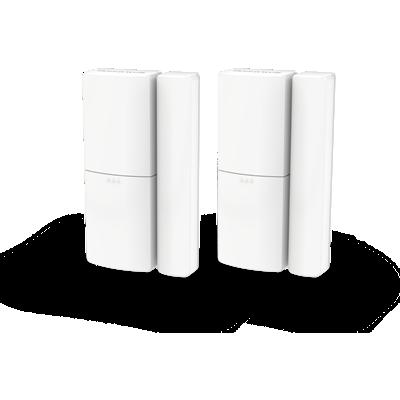Langaton ovi- ja ikkuna-anturi, yhdistelmäpakkaus – Valkoinen