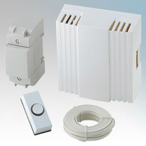 c425 - door chime kit - comprising chime, push, transformer and wire