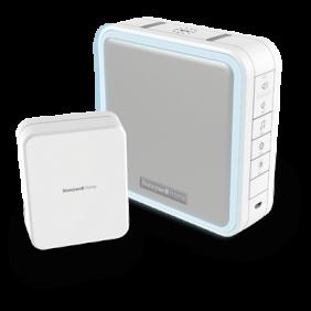 Campanello portatile senza fili con amplificatore di campo, funzione Sospensione e pulsante – Grigio