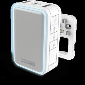 Campanello cablato con indicatore Halo e funzione Sospensione – Bianco
