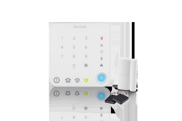 Pack alarme sans fil pour appartement avec commande intelligente