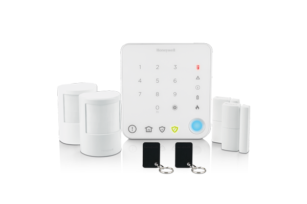 Wireless apartment alarm with intelligent control