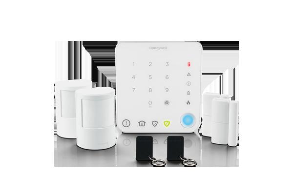 Alarme para apartamento, sem fios, com controlo inteligente