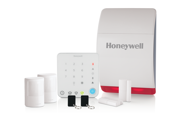 Wireless home alarm with intelligent control