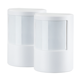 Wireless motion sensor (PIR) twin pack