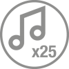 number-of-tunes-x25